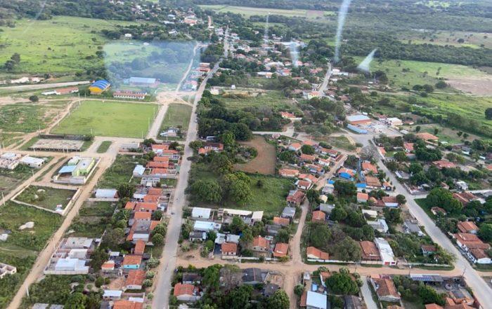 vista panorâmica da cidade de Santo Hipólito