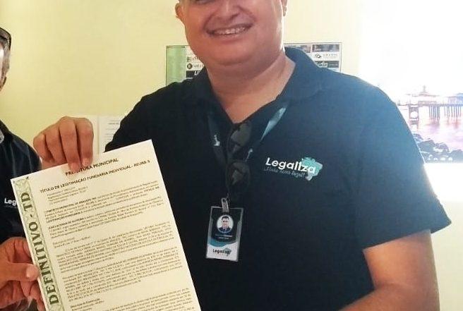 Prefeitura de Pedro Afonso e Legaliza regulariza imóveis