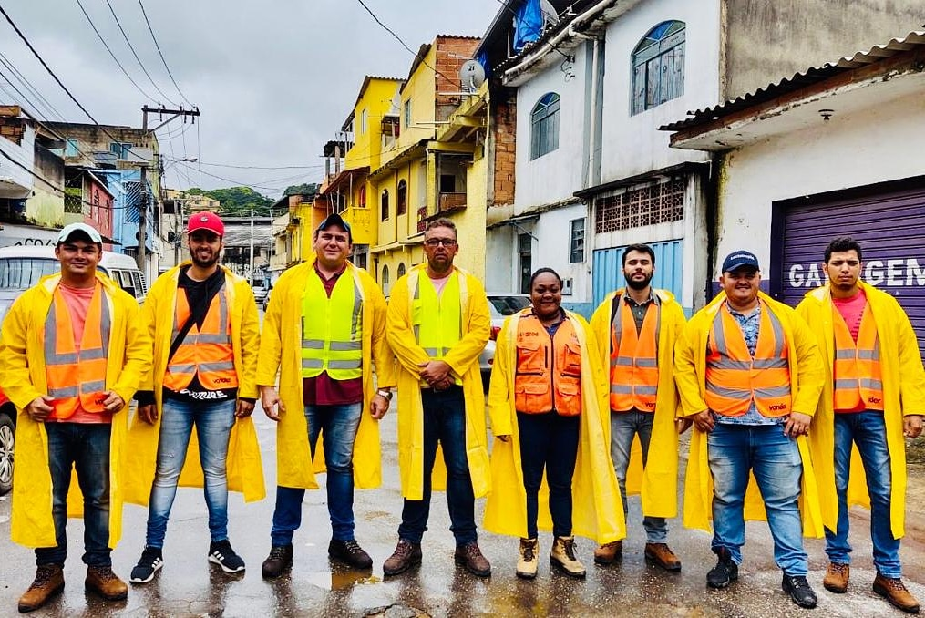 equipe de técnicos da Legaliza