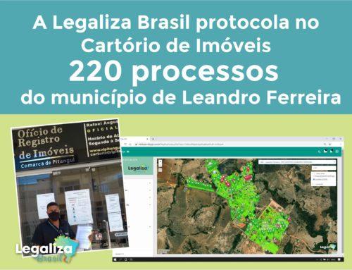 Legaliza Brasil conclui processo de regularização fundiária no município de Leandro Ferreira/MG