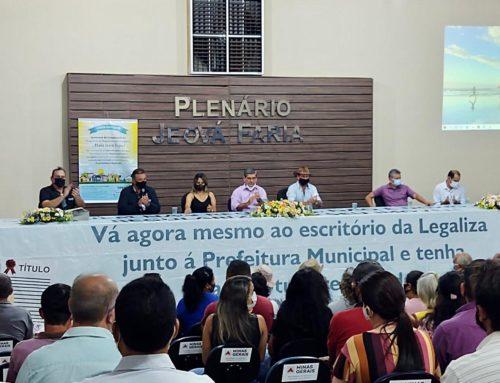 Prefeitura e Legaliza Brasil entregam escrituras de imóveis regularizados em Gurinhatã/MG